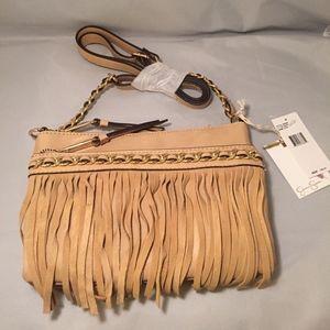 Jessica Simpson Tyra Fringe Crossbody Bag